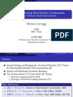 Michele Correggi- Vortices in Rotating Bose-Einstein Condensates