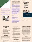 Career Report Brochure