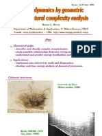 Renzo L. Ricca- Vortex dynamics by geometric and structured complexity analysis