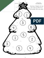 Roll a Christmas Tree (2 Dice)