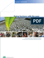 WBCSD - Doing Business With the Poor