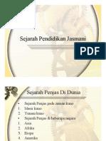 Sejarah Pendidikan Jasmani Slide