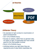 Uses of Ethicsl Theories