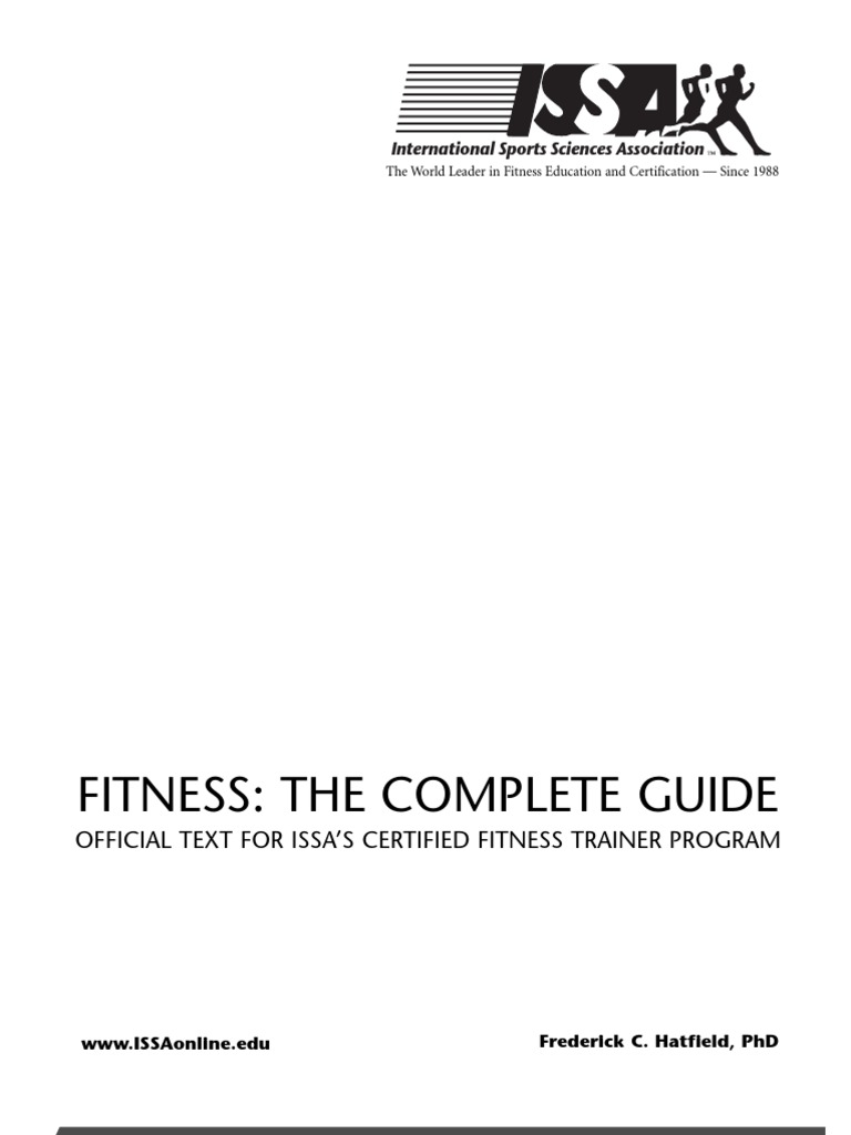 Issa Cft Chapter One Personal Trainer Physical Exercise