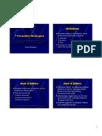 Formalist Strategies