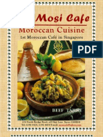 Mosi Cafe Menu