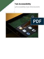 ePub Accessibility