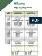 Jadwal Haji Plus