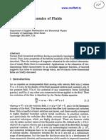 H.K. Moffatt- Topological Dynamics of Fluids