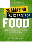 25 Amazing Facts About Food