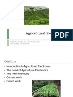 Agricultural Electronics