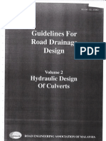 REAM Guidelines for Road Drainage Design - Volume 2