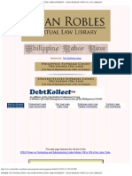 DOLE PRIMER on Contracting and Sub-Contracting