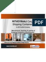 Ritveyraaj Cargo Shipping Containers Maharashtra India