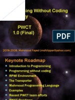 Programming Without Coding Technology (PWCT) Abstract