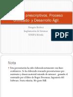 Modelos Prescriptivos y Desarrollo Agil