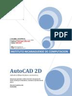 Manual AutoCAD 2D