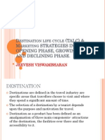 MARKET Strategies in Different Phases of Destination Life Cycle