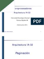 Procesador IA-32 - Clase5 - Paginacion - 2011