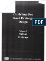 REAM Guidelines for Road Drainage Design - Volume 5