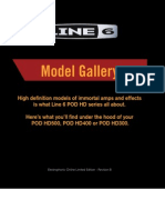 POD HD Model Gallery (Rev B) - English