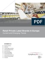 Special Report – Retail Private Label Brands in Europe  Current and Emerging Trends