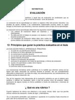 evaluacion 2011 3° mate