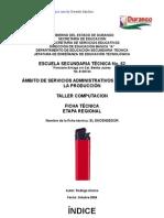 Análisis de Objeto Técnico El Encendedor