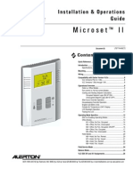 MicroSet II Installation & Operators Manual LTBT-TM-MSET2