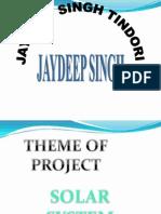 Jaydeep Singh Tindori Solar Project for Future