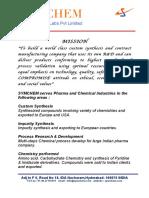 Symchem Product List Nov 2011