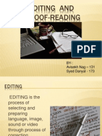 Editing and Proofreading 6