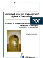 Touaregs et Arabes dans les forces armées coloniales et maliennes
