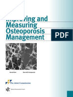 Improving and Measuring Osteoporosis Management