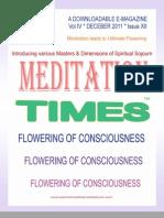 Meditation Times 2011 December