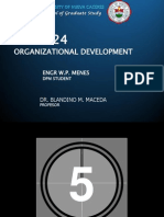 Concept of Org. Devt