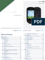Alcatel Ot 908 Manual