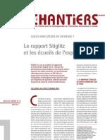Le rapport Stiglitz et les écueils de l'expertise