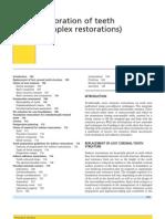 Restoration of Teeth