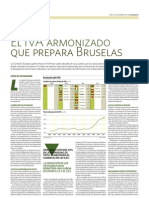 El IVA armonizado que prepara Bruselas