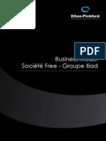 Etude Business Model Free - Groupe Iliad
