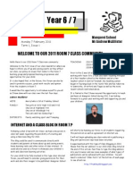 Room 7 Newsletter T1 Issue1PDF