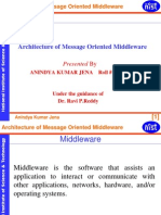 Architecture of Message Oriented Middle Ware