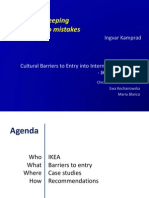 IKEA Cultural Barriers to Entry Into International Markets