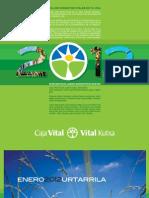 Calendario CAJA VITAL KUTXA 2012