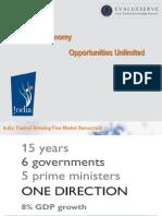 IBEF Presentation on Indian Economy Opportunities