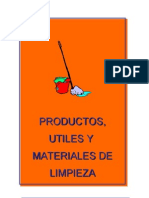 Productos Utiles y Materiales de Limpieza