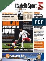 Gazzetta dello Sport - 12/12/2011