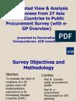 Session 1 eGP Survey Ramanathan