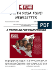Santa Rosa Fund Newsletter 38